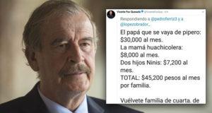 Fox se burla de familias mexicanas: 'que el papá se vaya de pipero'
