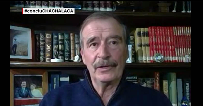 Fox_ No hay que creer a 'soplones' que Peña Nieto y Calderón fueron sobornados