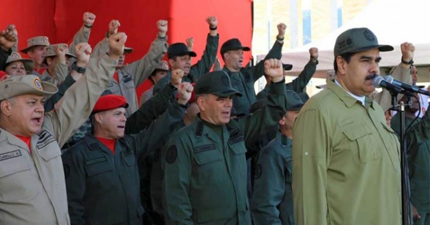 Fuerzas armadas de Venezuela reiteran lealtad a Maduro ante presión de Grupo Lima