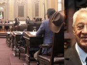 Guillermo Pacheco Pulido es elegido gobernador interino de Puebla