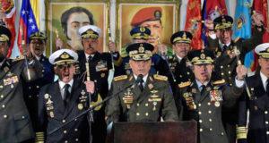 Juan Guaidó está cometiendo golpe de Estado con autoproclamación_ Fuerzas Armadas de Venezuela