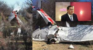 Muere en desplome de avioneta funcionario del INE en Durango, Hugo García Cornejo