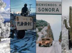 Nevadas en Sonora activan emergencia en 72 municipios y Plan DN-III