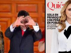 Portada de 'Quién' sugeriría divorcio de Angélica Rivera y Peña Nieto