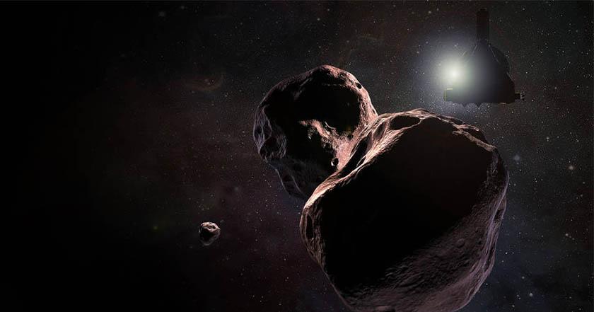 Primeras fotos cercanas de Ultima Thule publicadas por la NASA
