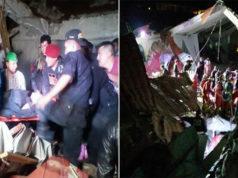Se colapsa pared de hotel durante boda; mueren 15 (videos, imágenes)