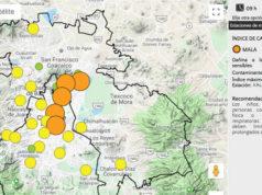 Valle de México aún presenta mala calidad del aire