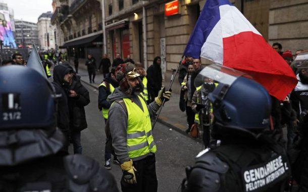Disturbios y detenidos en la novena protesta de los