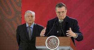 México y Uruguay marcelo ebrard sre canciller amlo venezuela nicolás maduro
