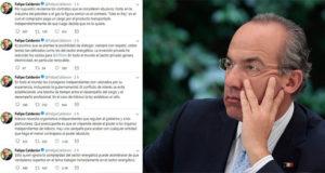 Calderón madruga para negar acusaciones de conflicto de interés por CFE
