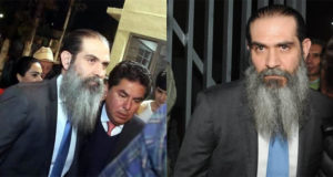 Deja Guillermo Padrés reclusorio con barbas largas y brazalete localizador
