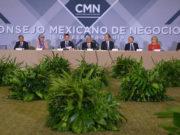 EN VIVO_ AMLO visita el Consejo Mexicano de Negocios