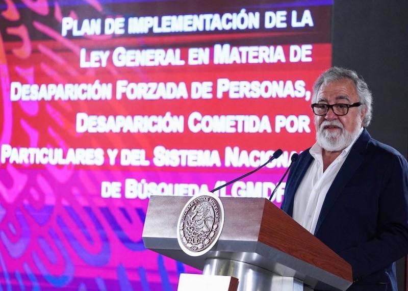México, enorme fosa clandestina: Alejandro Encinas
