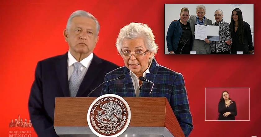 Esta es la terna aprobada para elegir presidenta de Inmujeres