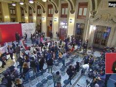 Falsa alerta sísmica interrumpe rueda de prensa de AMLO