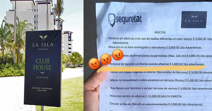 Indigna en redes hotel que multa por permitir a niñeras usar albercas