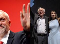 Jeremy Corbyn partido laborista Alexandria Ocasio-Cortez Bernie Sanders