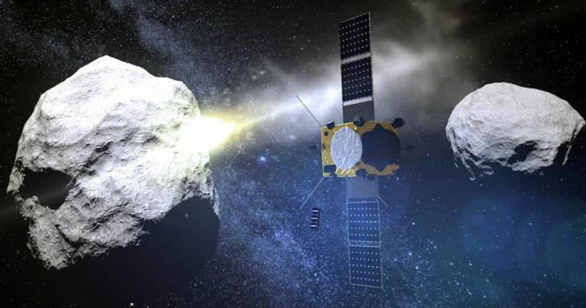 NASA intentará desviar trayectoria de asteroide del tamaño de la pirámide de Guiza