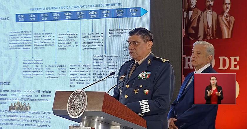 AMLO presenta resultados del plan de combate al huachicoleo