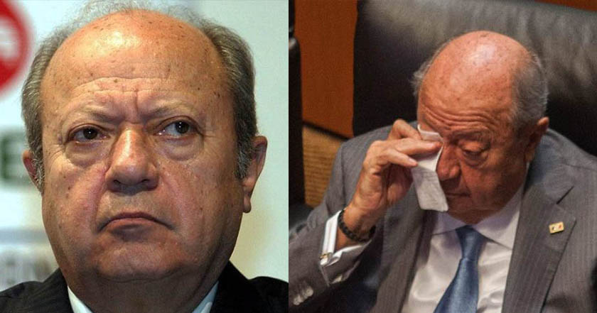 Romero Deschamps acumula otra denuncia en su contra, ahora por fraude