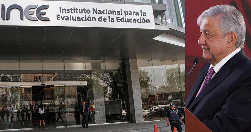 Si calificaran al Instituto de Evaluación Educativa no pasaría_ AMLO