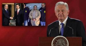 'Soy partidario de condenar al régimen'_ AMLO sobre EPN y Calderón ligados al Chapo
