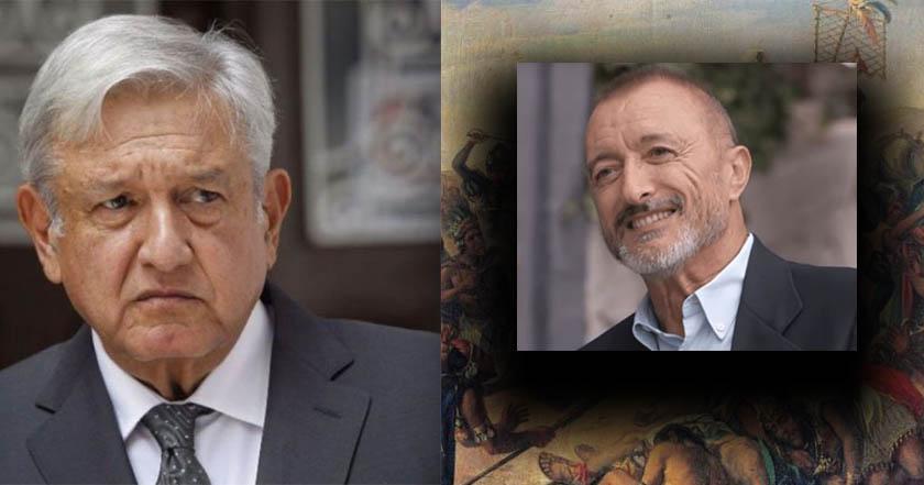 Arturo Pérez-Reverte llama