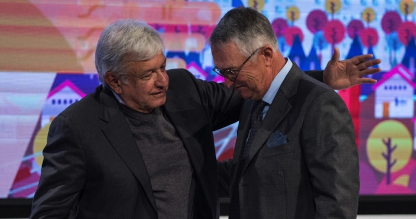 López Obrador revela que comió con Slim; no coinciden en varios temas