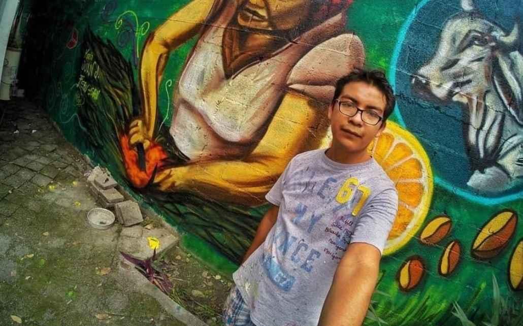 Asesinan al muralista Héctor Domínguez