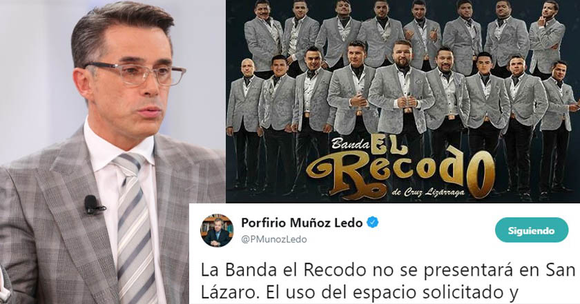 Tocará Banda El Recodo en San Lázaro