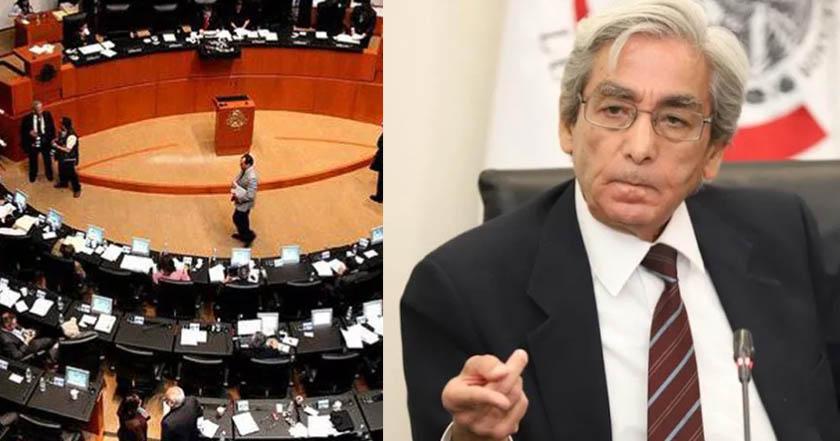 Senado rechaza a Edmundo Sánchez como consejero de Pemex
