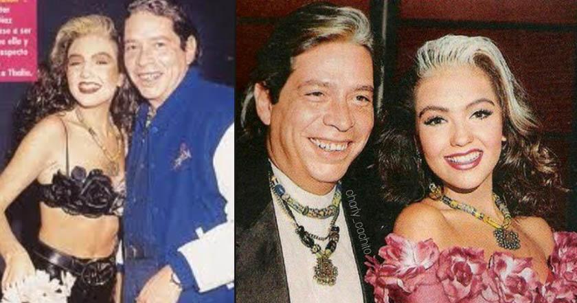 Thalía recuerda a su exnovio y Tommy Mottola reacciona