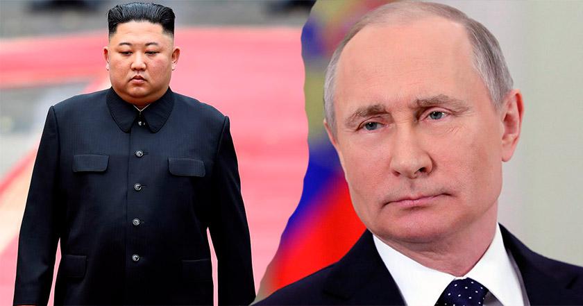 Kim Jong-un arribó a Vladivostok para su primera reunión con Putin