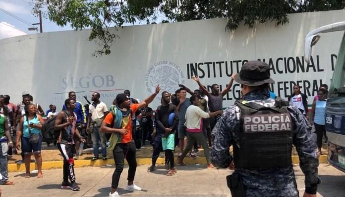 Resultado de imagen para estación migratoria de Tapachula