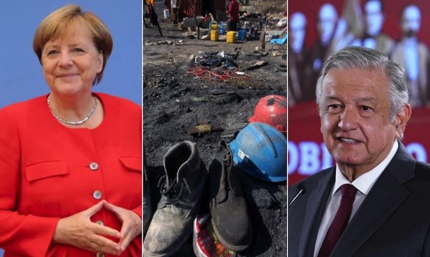 Pasta de Conchos: Alemania ayudará en rescate de cuerpos de mineros