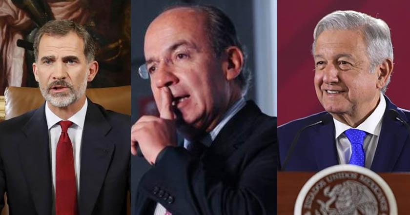 Obrador hará públicas cartas al Rey y Papa