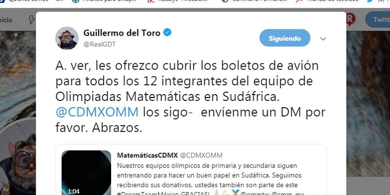 Del Toro pagará viaje a equipo para Olimpiada de Matemáticas en Sudáfrica