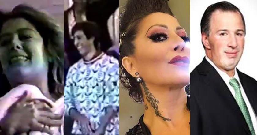 VIDEO revela que Meade y Alejandra Guzmán fueron compañeros en la preparatoria