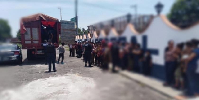Rescata SSP a 101 migrantes centroamericanos en Tierra Blanca y Tantoyuca