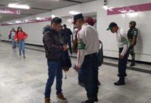 Guardia Nacional llega a la instalaciones del Metro de la CDMX
