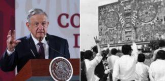 AMLO a favor del pase automático, reconoce lucha de la UNAM
