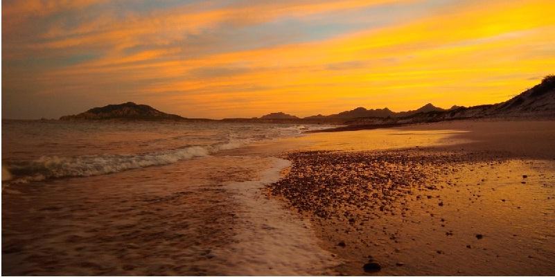 Mar de Cortés / Foto: Rodrigo Trejo