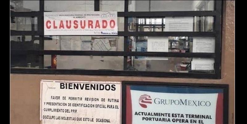 Autoridades mexicanas clausuraron el sábado planta de Grupo México por vertido tóxico