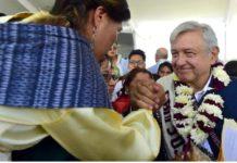 AMLO en San José del Rincón, Edomex