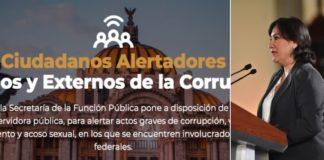 """Lanzan """"Ciudadanos alertadores"""", plataforma para combatir la corrupción"""