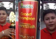 Niño gana concurso de matemáticas en China, agradece a Iztapalapa el apoyo