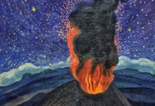 Dr. Atl, Volcanes, pintura