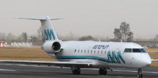 Avión, vuelo Huasteca CDMX