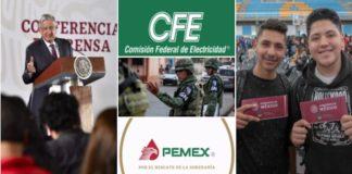 Apoyos, Pemex, CFE y seguridad prioridades en el presupuesto: AMLO