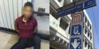 Un hombre arrojó a las vías a un trabajador del Metro